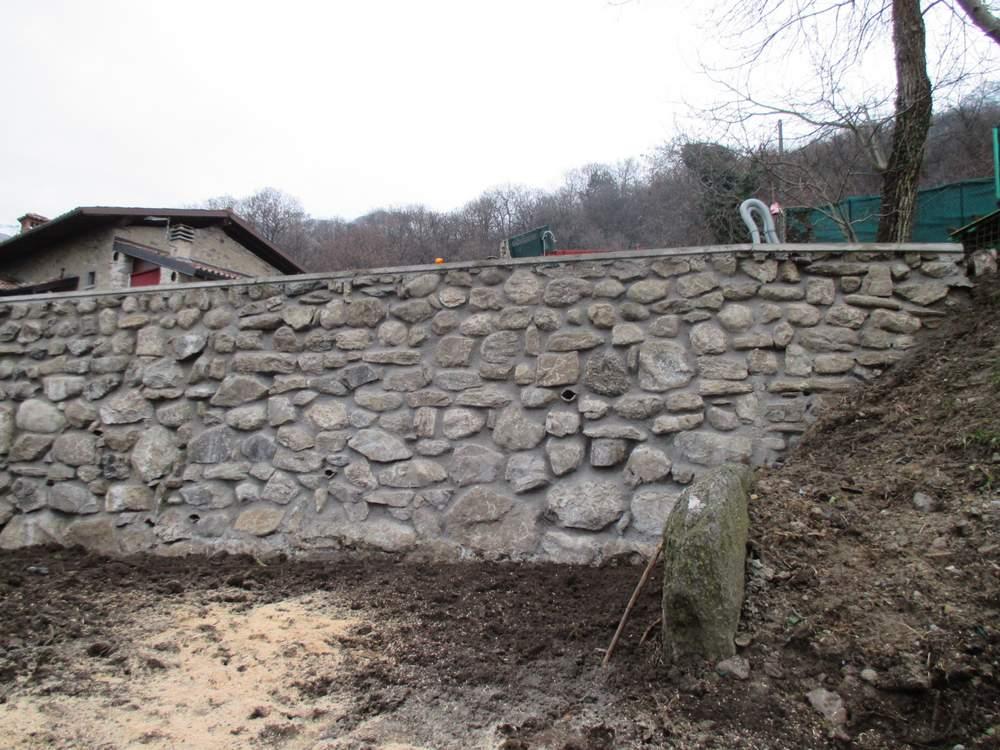 Muri in pietra ricostruiti (2)